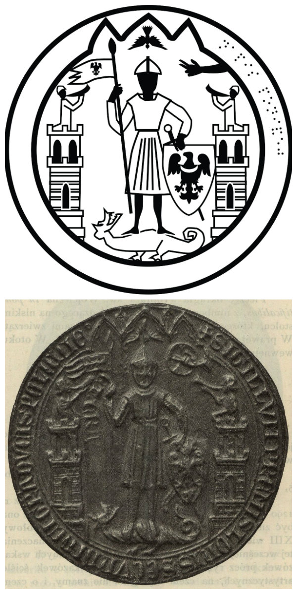 Seal of Przemysł II, Duke of Greater Poland and Krakow